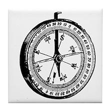 Compass Tile Coaster