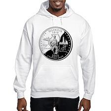 Illinois Quarter Hoodie Sweatshirt