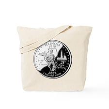 Illinois Quarter Tote Bag