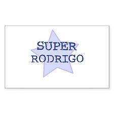 Super Rodrigo Rectangle Decal