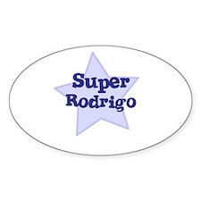 Super Rodrigo Oval Decal