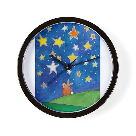 Beautiful Night Wall Clock