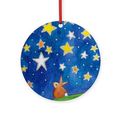 Beautiful Night Ornament (Round)