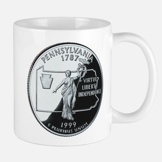 Pennsylvania Quarter Mug