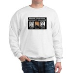 Beware of community organizer Sweatshirt