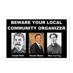 Beware of community organizer Postcards (Package o