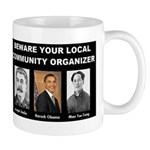 Beware of community organizer Mug