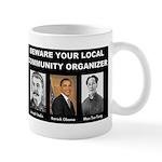 Beware of community organizer Mug