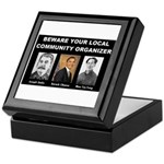Beware of community organizer Keepsake Box