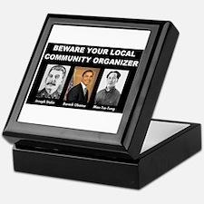 Beware of community organizer Keepsake Box