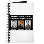Beware of community organizer Journal