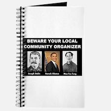 Beware of community organizer Journal
