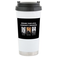 Beware of community organizer Travel Mug