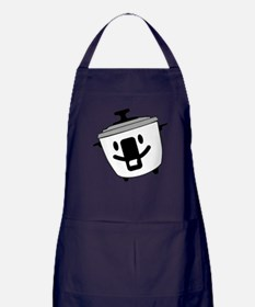 The Happy Rice Cooker Apron (dark)