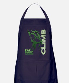 Eat Sleep Climb Apron (dark)