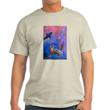 Wolf and Raven Light T-Shirt