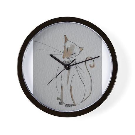 Simply Siamese Wall Clock