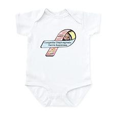 Landon Matthew CDH Awareness Ribbon Infant Bodysui