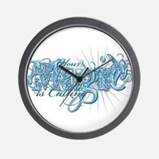 Your Magic Is Calling Wall Clock