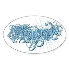 Your Magic Is Calling Oval Sticker (10 pk)