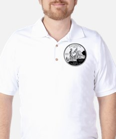 California Quarter Golf Shirt