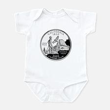 California Quarter Infant Bodysuit