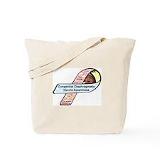 LBJ Roycik CDH Awareness Ribbon Tote Bag
