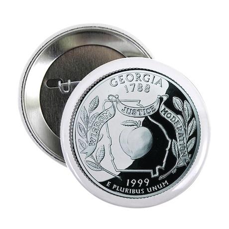 """Georgia Quarter 2.25"""" Button (10 pack)"""