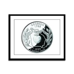 Georgia Quarter Framed Panel Print
