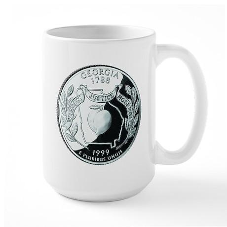 Georgia Quarter Large Mug
