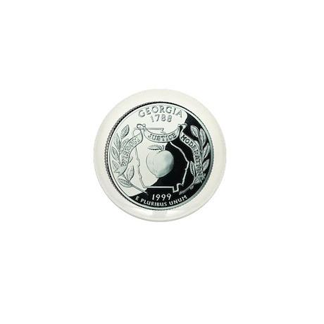 Georgia Quarter Mini Button