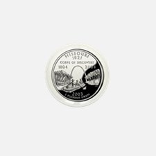 Missouri Quarter Mini Button (100 pack)