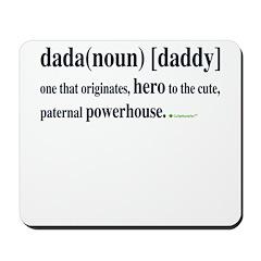 dada (daddy) Mousepad