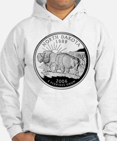 North Dakota Quarter Hoodie