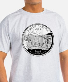 North Dakota Quarter T-Shirt