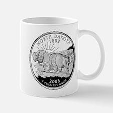 North Dakota Quarter Mug