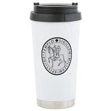 Templar Seal Stainless Steel Travel Mug