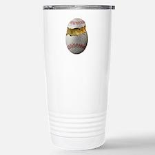 Softball Chick Stainless Steel Travel Mug