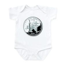 New York Quarter Infant Bodysuit