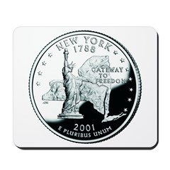 New York Quarter Mousepad