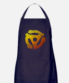 Distressed 45 RPM Adapter Apron (dark)