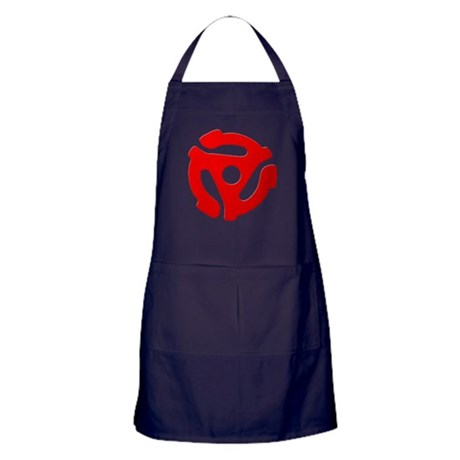 Red 45 RPM Adapter Apron (dark)