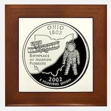 Ohio Quarter Framed Tile