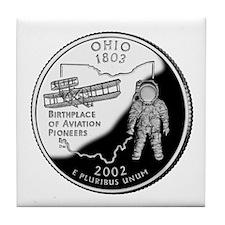 Ohio Quarter Tile Coaster