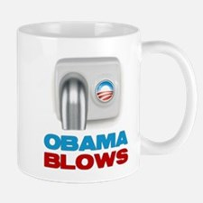 Obama Blows Mug