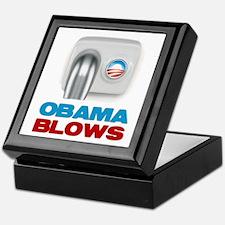 Obama Blows Keepsake Box