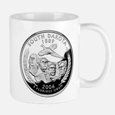 South Dakota Quarter Mug