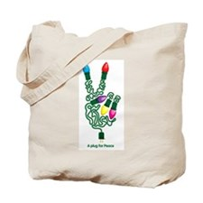 Cute Peaceful Tote Bag