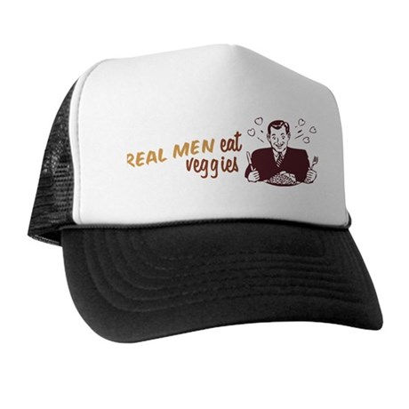 Real Men Eat Veggies Trucker Hat