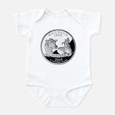 Wisconsin Quarter Infant Bodysuit
